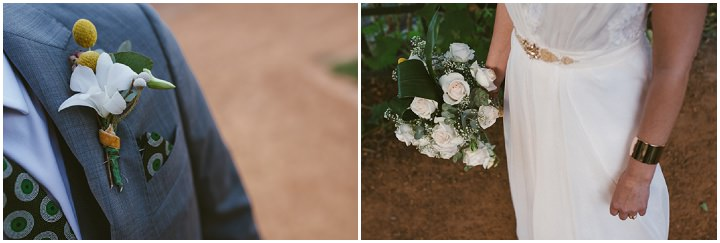 Natural South African Wedding flowers