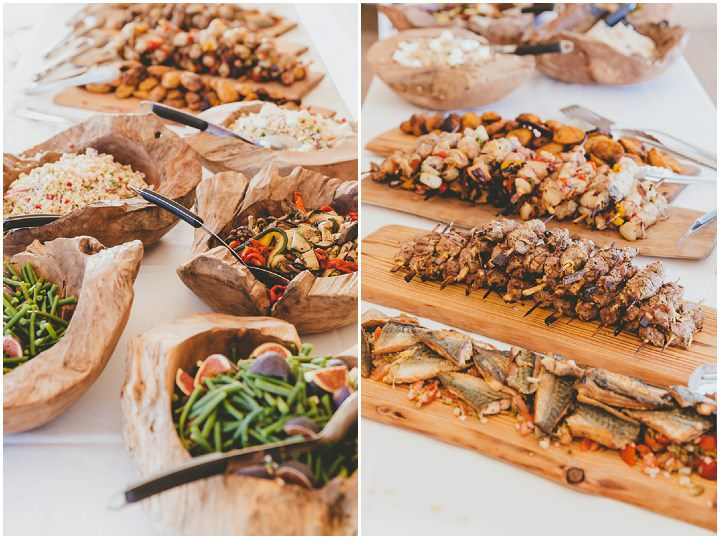 Bournemouth Beach Wedding food By Paul Underhill Photography