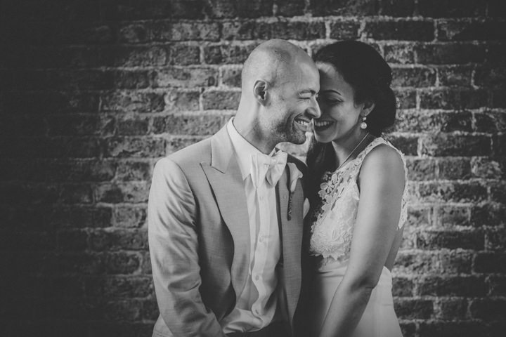 London Wedding couple at The Hoxton Arches By Tracey Hosey Photography