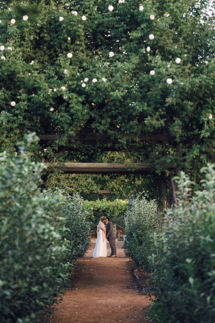 Natural South African Wedding couple