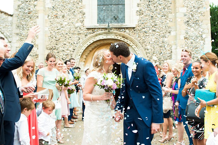 Handmade Berkshire Wedding confetti By Source Images