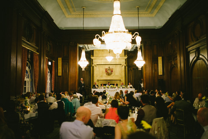 Wedding at Pinewood Studios speeches