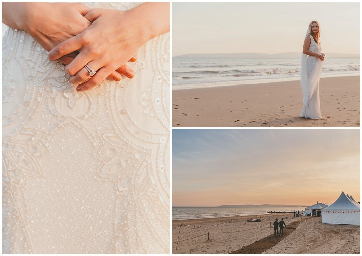 Bournemouth Beach bride Wedding By Paul Underhill Photography