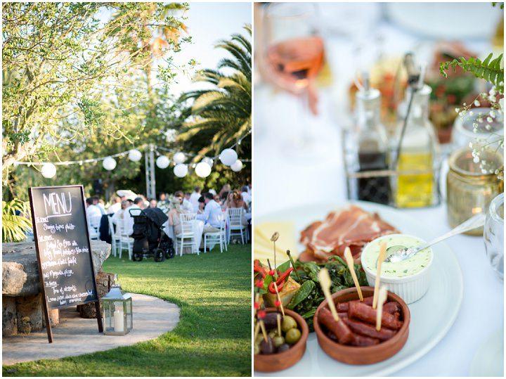 Ibiza Wedding food By Gypsy Westwood Photography
