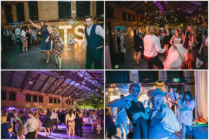 Kelham Island Museum Wedding first dance in Sheffield City Centre By Tierney Photography