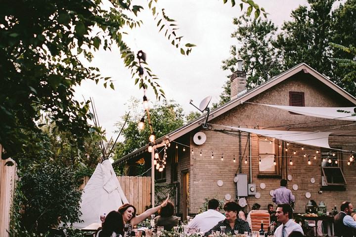 Bohemian Colorado Wedding