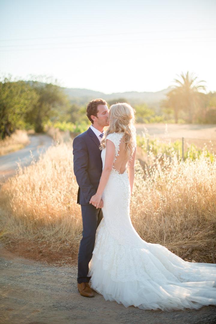 Ibiza Wedding couple By Gypsy Westwood Photography