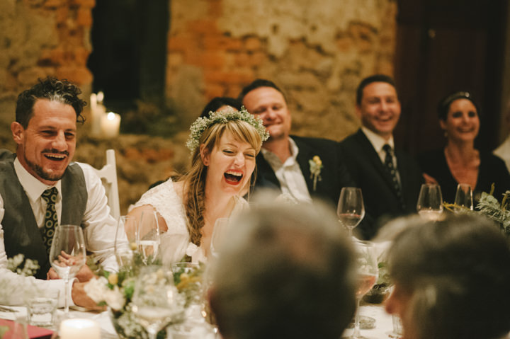 Natural South African Wedding happy bride