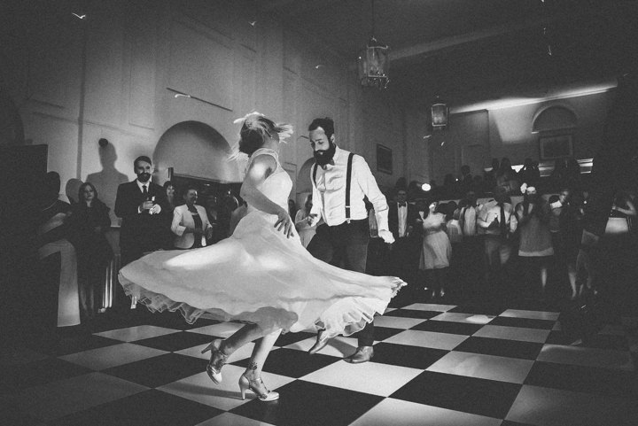Wedding at Pinewood Studios first dance