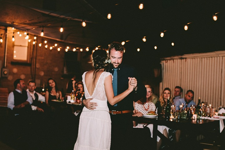 Bohemian Colorado Wedding first dance