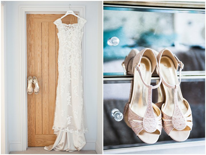 Handmade Berkshire Wedding dress and shoes By Source Images