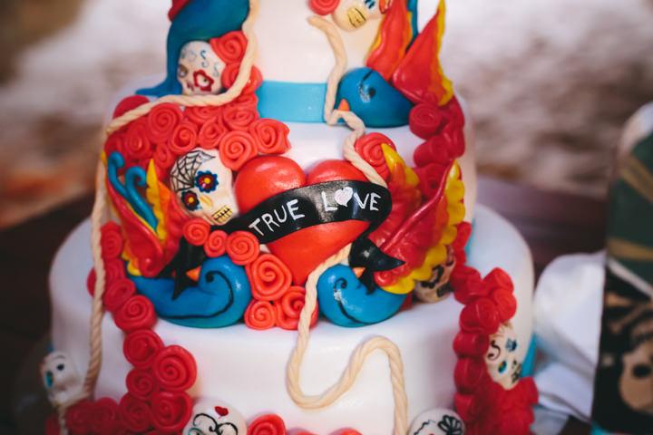 Algarve Wedding cake By Ana Parker Photography
