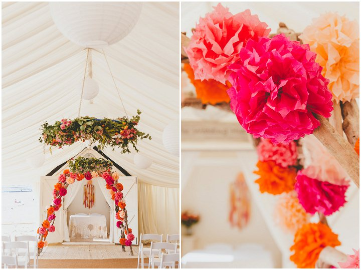 Bournemouth Beach Pom Pom Wedding By Paul Underhill Photography