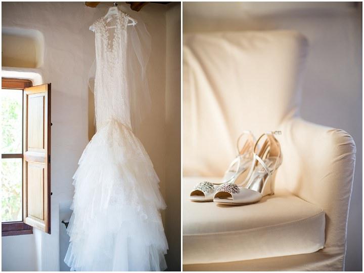 Ibiza Wedding hanging Dress By Gypsy Westwood Photography