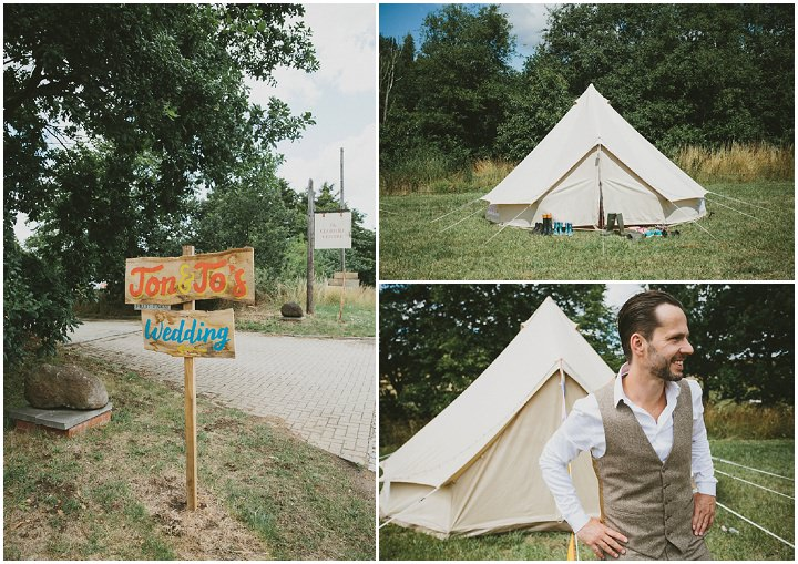 Woodland Wedding Groom at the Clophill Centre By McKinley-Rodgers Photography
