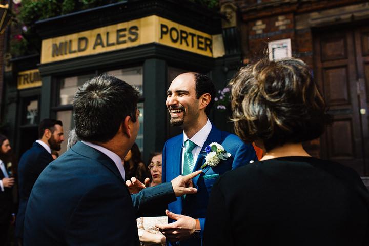 Wilton's Music Hall Ceremony Wedding