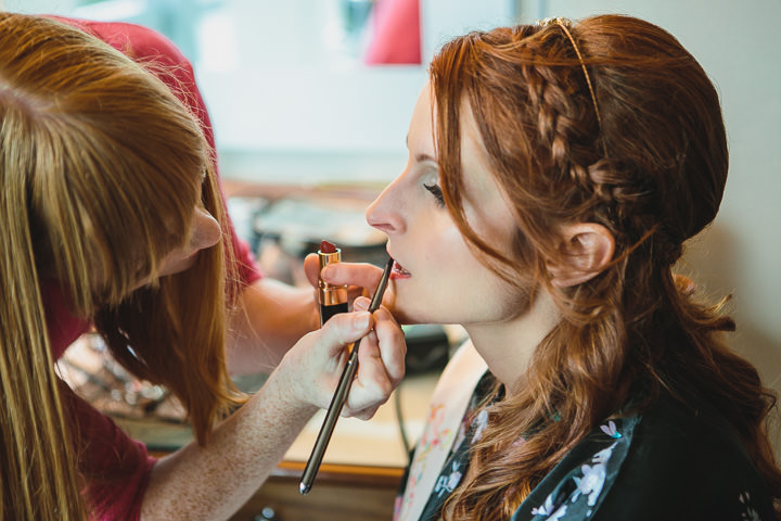 Kelham Island Museum bridal prep Wedding in Sheffield City Centre By Tierney Photography