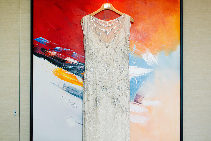 Wilton's Music Hall Wedding Jenny Packham Dress