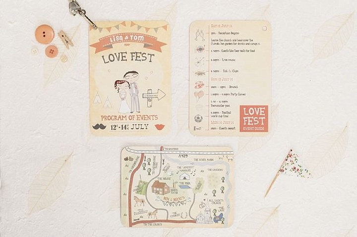 Diary of a Boho Bride - Carmel and Dan, Entry 5: Being Organised