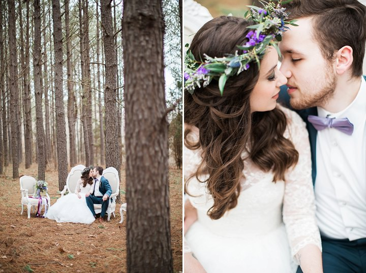 Outdoors Woodland Wedding Inspiration