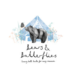 Boho Loves - Bears and Butterflies - Family-run, luxury bell tent hire company providing boutique camping accommodation