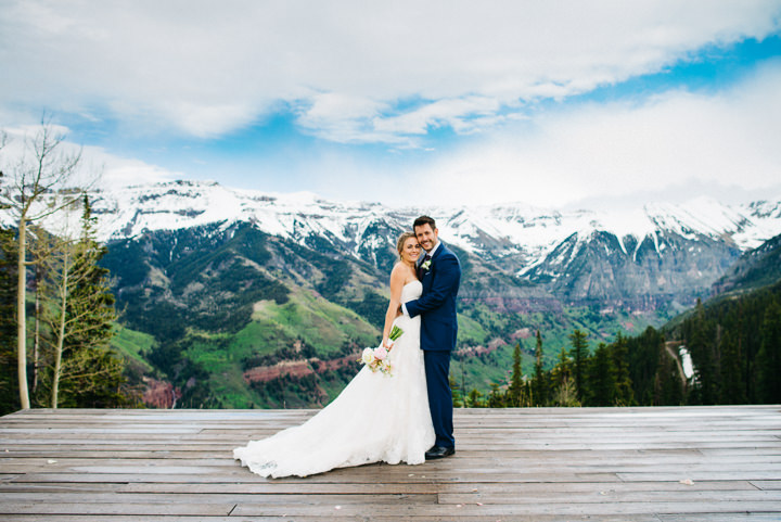 Colorado Wedding in the Snowy Mountains By Searching For The Light