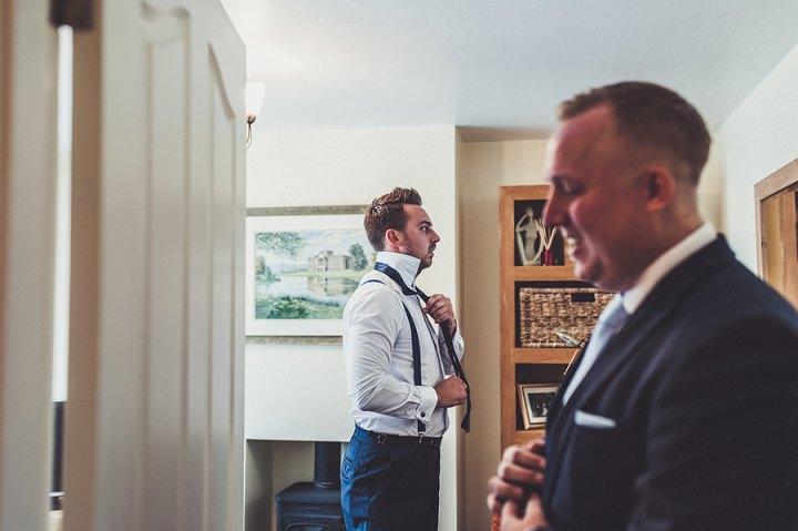 Hill Top Farm groom prep By Claire Penn Photography
