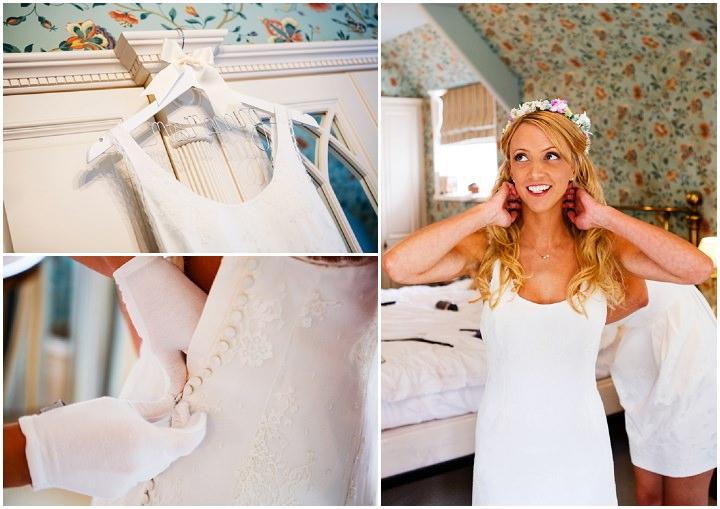 Somerset Wedding bride at Widcombe Grange By Raw Silk Photography