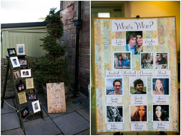 Homespun Ashes Barns table plan Wedding By YU Photography