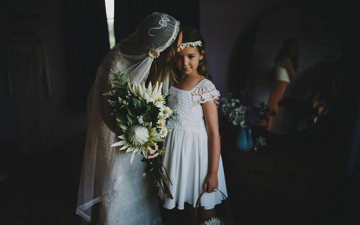Bohemain New Zealand juiet cap Beach Wedding By Vignoto Photo