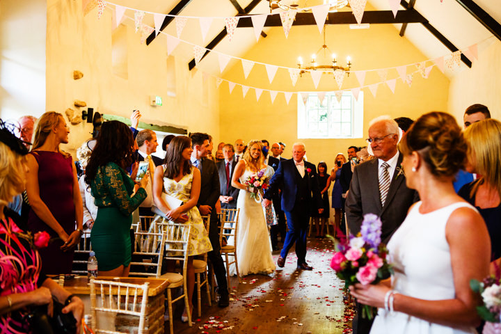 Somerset Wedding brides arrival at Widcombe Grange By Raw Silk Photography