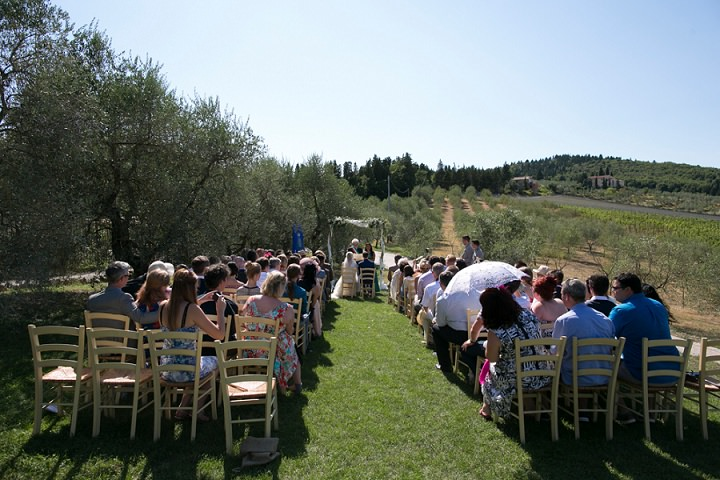 Tuscany outdoor ceremony Wedding By David Bastianoni Photography