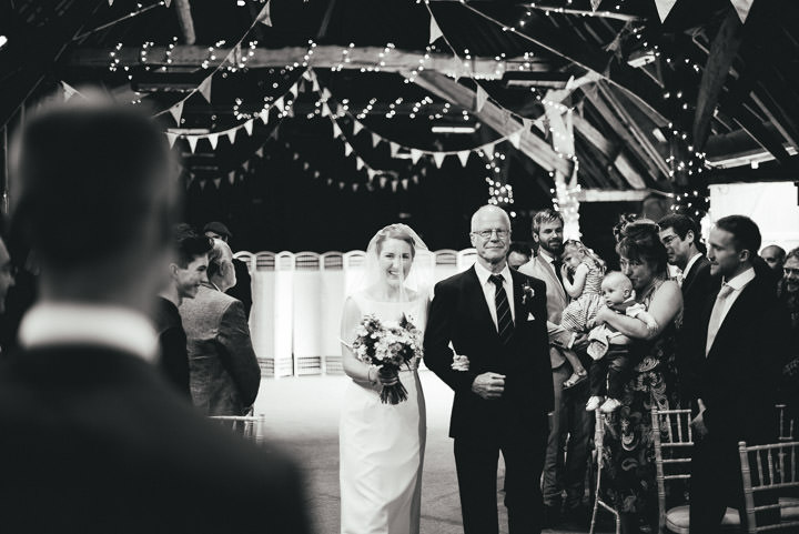 Blackthorpe Barn bride Wedding By Benjamin Mathers Photography
