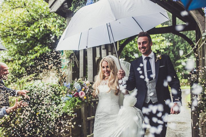Hill Top Farm confetti By Claire Penn Photography