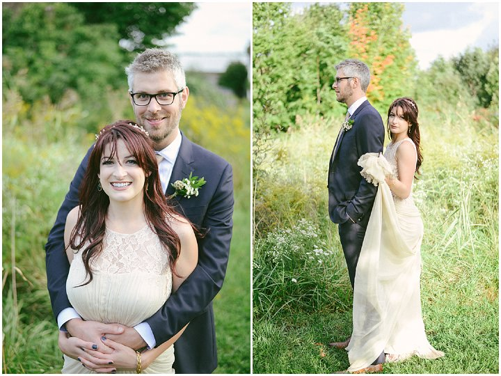 Music Filled Canadian Wedding bride and groom By Megan Ewing Creative