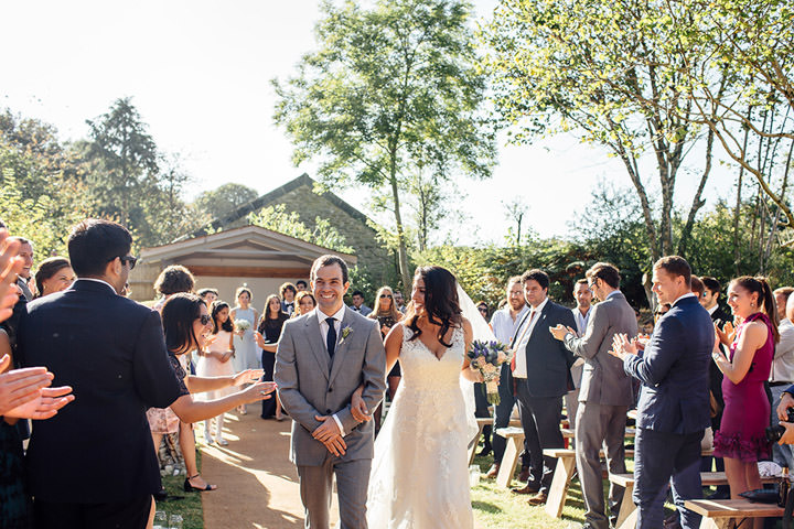Wedding at Kilminorth Cottages just married in Looe By Freckle Photography