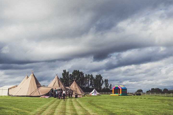 Hill Top Farm tipi By Claire Penn Photography