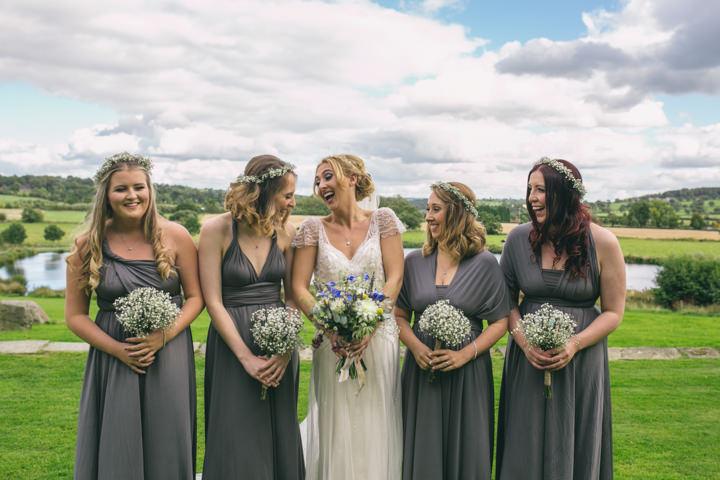Homespun Ashes Barns bridesmaids Wedding By YU Photography