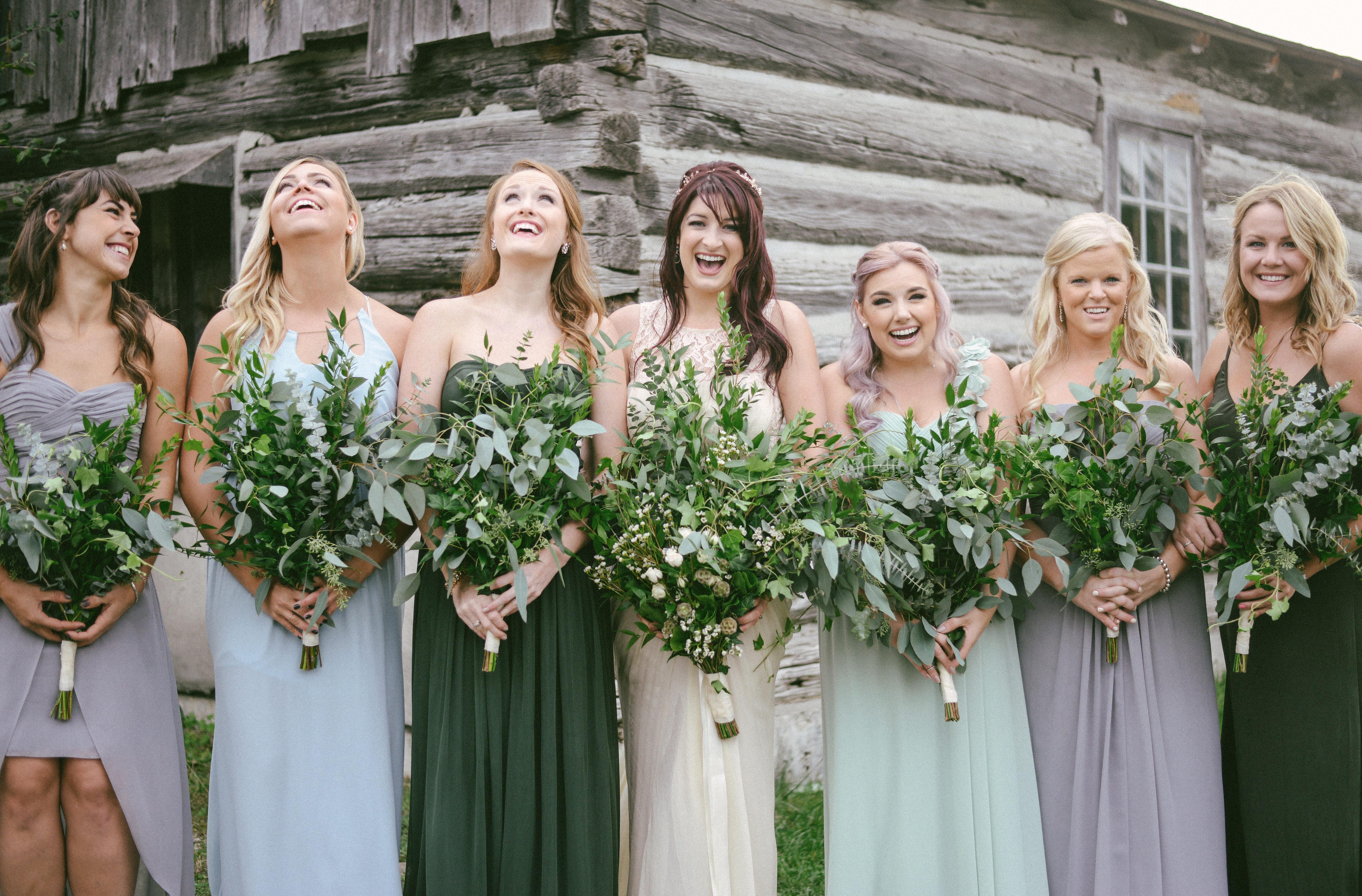 Music Filled Canadian bridesmaids Wedding By Megan Ewing Creative