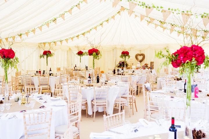 Somerset Wedding reception setting at Widcombe Grange By Raw Silk Photography