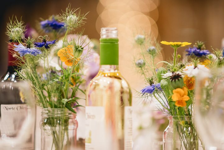 Blackthorpe Barn Wedding wildflowers By Benjamin Mathers Photography