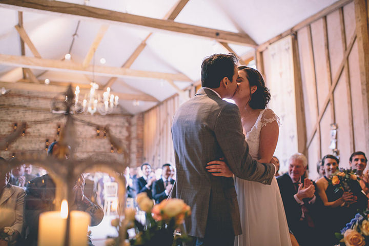 Upwaltham Barns Wedding in West Sussex By Story and Colour