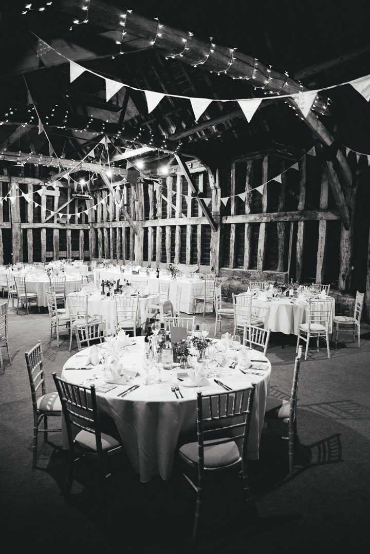 Blackthorpe Barn Wedding setting By Benjamin Mathers Photography
