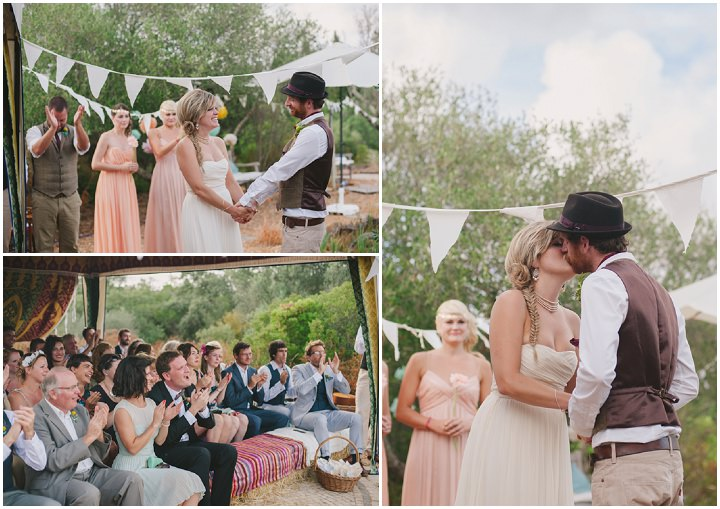 Homespun Algarve bride and groom Wedding By Piteira Photography