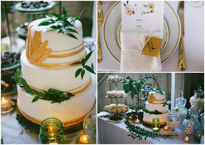 Music Filled wedding cake Canadian Wedding By Megan Ewing Creative