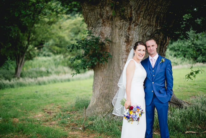 Blackthorpe Barn bride and groom Wedding By Benjamin Mathers Photography