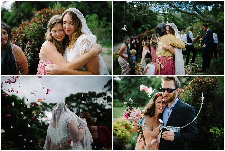 Bohemain New Zealand Beach Wedding By Vignoto Photo