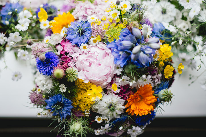 Blackthorpe Barn Wedding flowers By Benjamin Mathers Photography