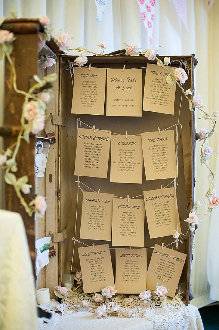 Hertfordshire Wedding table plan at Brocket Hall By Fiona Kelly