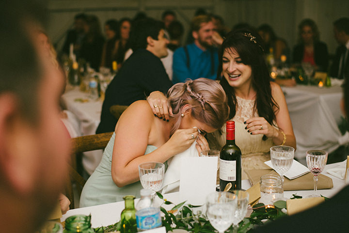 Music Filled Canadian speeches at Wedding By Megan Ewing Creative